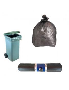 Lot de 5 sacs poubelle 120 et 240 litres