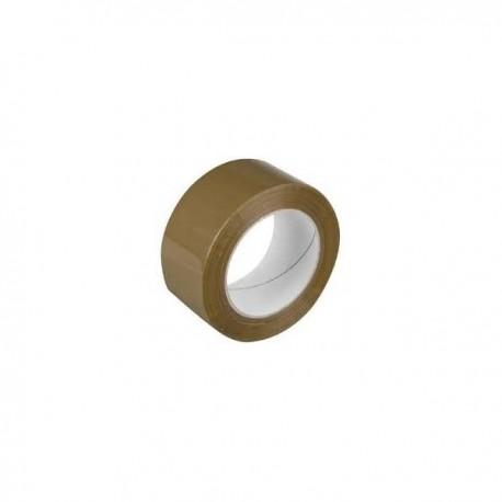 Ruban adhésif marron - 66 m - 40 microns