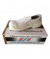 Chaussures de sécurité sans lacets agroalimentaire