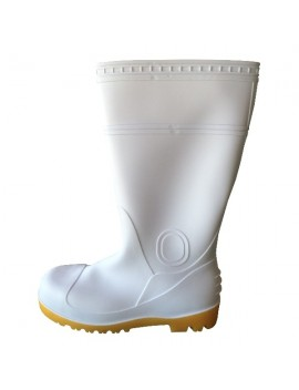 Bottes de sécurité agroalimentaire PVC blanches