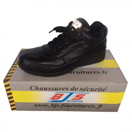 Chaussures basses de sécurité en cuir BJS