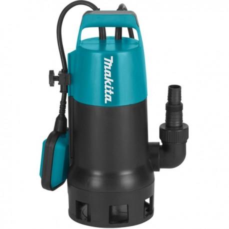 Pompe vide-cave à eau chargée filaire 1100 W MAKITA