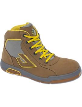 Chaussure montante de sécurité en nubuck hydrofuge BICAP