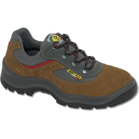 Chaussures basses de sécurité en cuir chamoisée et nylon BICAP