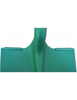 Pelle carrée Terrassier 23 cm à 2 rebords Magne
