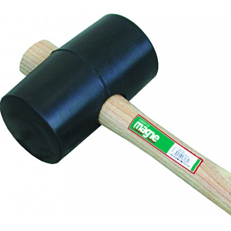 Maillet caoutchouc forme tonneau 65 mm Magne