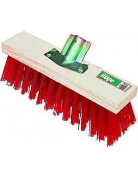Balai de cantonnier Ø 28 mm fibres synthétiques