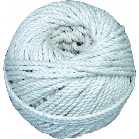 Cordeau Ø 1,0 mm coton en pelote câblé Magne