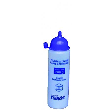 Poudre à tracer coloris bleu haute adhérence 200 g Magne