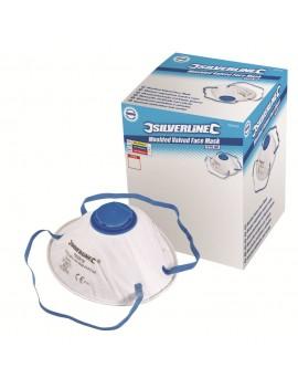 10 masques anti-poussière avec valve Magne