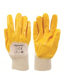 Gants interlock nitrile à enduction