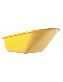 Caisse peinte jaune 110 L Haemmerlin