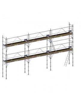 Échafaudage L 9m x h 4m - 60 m2 F3000