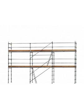 Échafaudage L 9m x h 4 m 60 m2 F3000