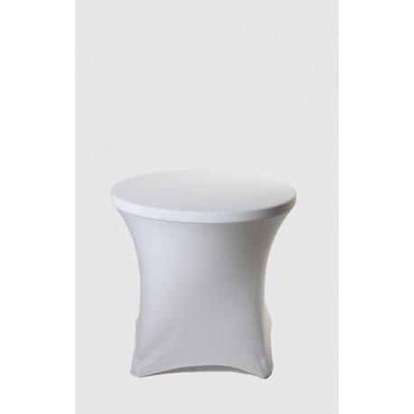 Housse Spandex pour table pliante ronde diamètre 80 cm