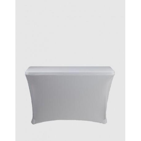 Housse Spandex pour table pliante rectangle 122 cm x 61 cm - noir