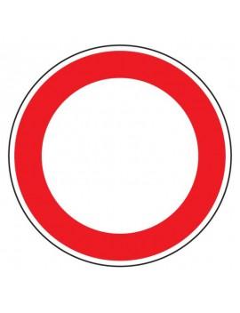 "Panneau BK0 ""Circulation interdite"""