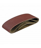 5 bandes abrasives grain 120