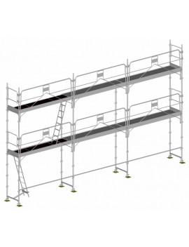 Échafaudage structure seule LOT 60 m2 - DUO 45