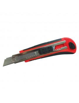 Cutter à lames 18 mm sécables auto-rechargeables