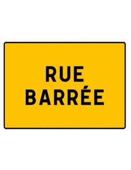 """Panneau seul KC1 19P """"Rue barrée"""""""