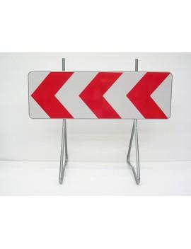 Barrière K8 - 1000 x 500 mm avec bi-pieds