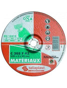 Disque à tronçonner ø 230 mm pour matériaux