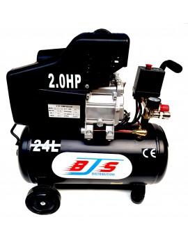 Compresseur d'air coaxial 24 L, 2 cv, électrique