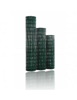 Grillage soudé-plastifié vert
