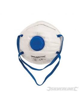 Masques respiratoires moulés à valve
