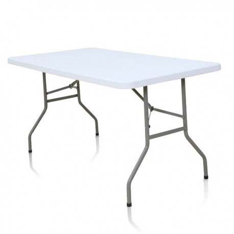 Table rectangulaire de 152 cm x 76 cm