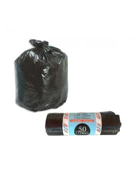 Lot de 20 sacs poubelle avec liens classiques